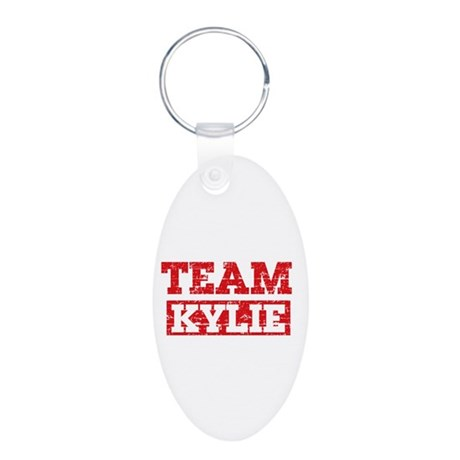 Team Kylie Aluminum Oval Keychain