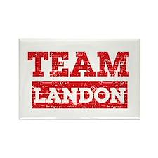 Team Landon Rectangle Magnet