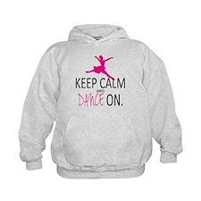 Keep Calm & Dance On Hoodie