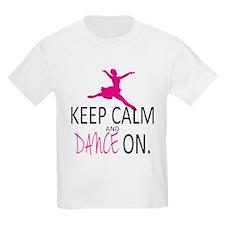 Keep Calm and Dance On T-Shirt