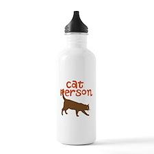 cat person Water Bottle