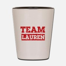 Team Lauren Shot Glass