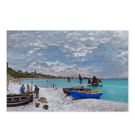 Monet - Saint Adresse Postcards (Package of 8)