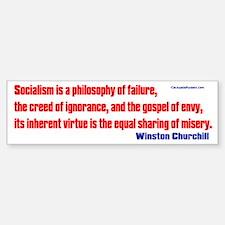Socialism is a Philosophy of Failure Car Car Sticker