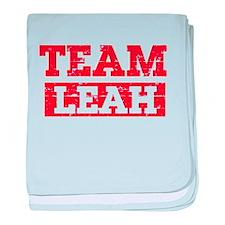Team Leah baby blanket
