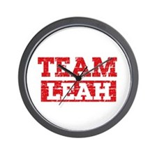 Team Leah Wall Clock