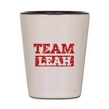 Team Leah Shot Glass