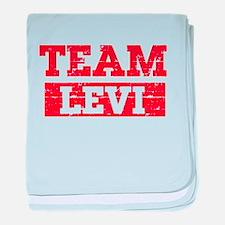 Team Levi baby blanket