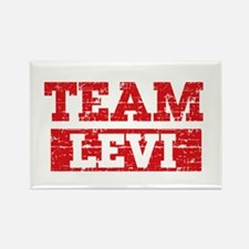 Team Levi Rectangle Magnet