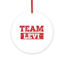 Team Levi Ornament (Round)