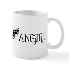 Fangirl Dragon Mug