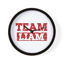 Team Liam Wall Clock