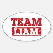 Team Liam Sticker (Oval)