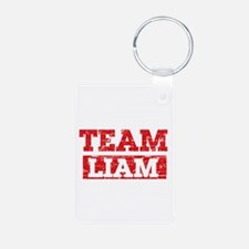 Team Liam Aluminum Photo Keychain