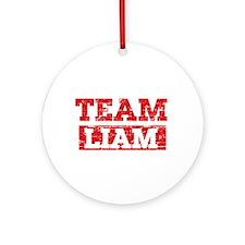 Team Liam Ornament (Round)