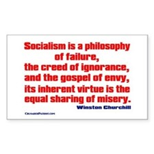 Socialism is a Philosophy of Failure Decal