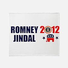 ROMNEY JINDAL PRESIDENT 2012 BUMPER STICKER Stadi