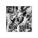 New York Square Sticker 3