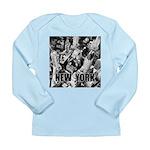 New York Long Sleeve Infant T-Shirt