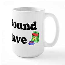 Plott Hound FOOD SLAVE Mug