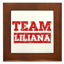 Team Liliana Framed Tile