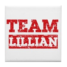 Team Lillian Tile Coaster