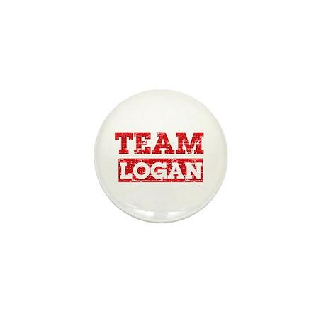 Team Logan Mini Button (10 pack)