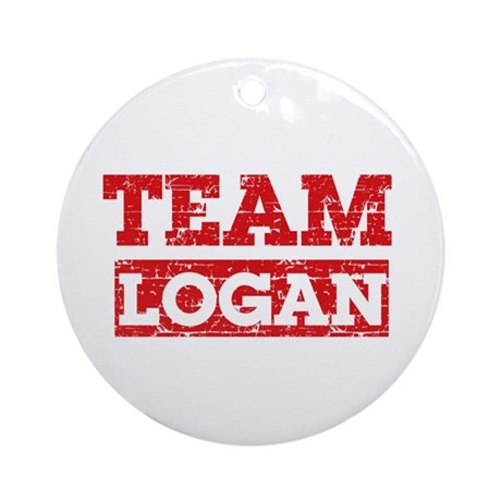 Team Logan Ornament (Round)