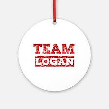 Team Logan Ornament (Round)