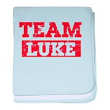 Team Luke baby blanket