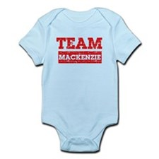 Team Mackenzie Infant Bodysuit