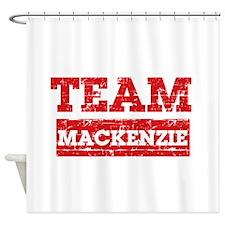 Team Mackenzie Shower Curtain
