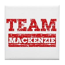 Team Mackenzie Tile Coaster