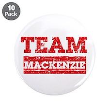 """Team Mackenzie 3.5"""" Button (10 pack)"""