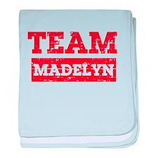 Team Madelyn baby blanket