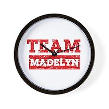 Team Madelyn Wall Clock