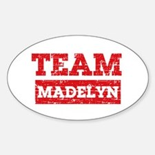 Team Madelyn Sticker (Oval)