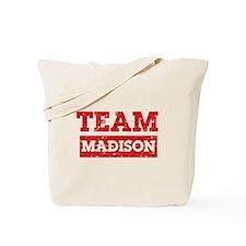 Team Madison Tote Bag