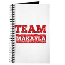 Team Makayla Journal