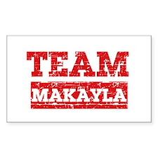 Team Makayla Decal