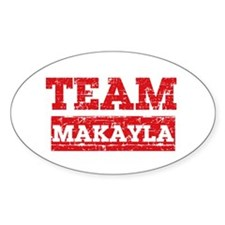 Team Makayla Decal