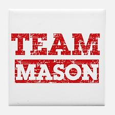 Team Mason Tile Coaster