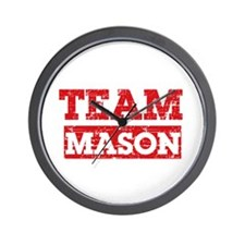 Team Mason Wall Clock