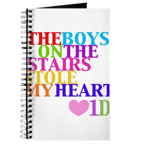 The Boys on the Stairs Stole My Heart Journal