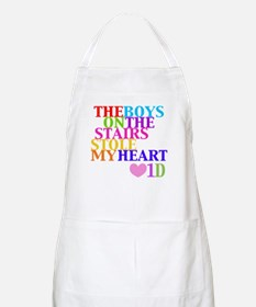 The Boys on the Stairs Stole My Heart Apron