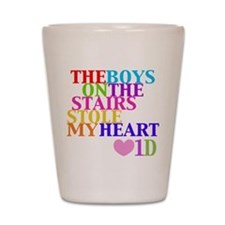 The Boys on the Stairs Stole My Heart Shot Glass