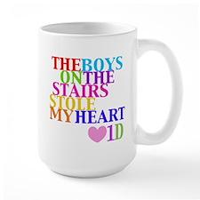 The Boys on the Stairs Stole My Heart Mug