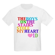 The Boys on the Stairs Stole My Heart T-Shirt