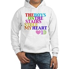 The Boys on the Stairs Stole My Heart Hoodie Sweatshirt