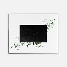 Elegant Shamrock Design.png Picture Frame